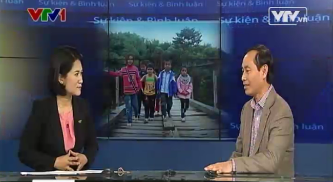 Thứ trưởng Bộ GTVT Lê Đình Thọ: Sẽ xây cầu cho cô trò qua suối bằng túi nilon