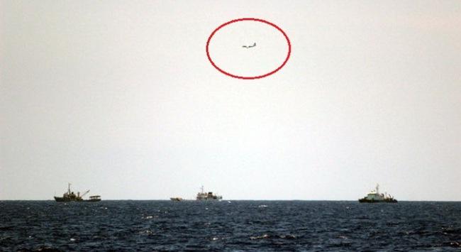 Lợi dụng thời tiết xấu, tàu Trung Quốc liên tục gây hấn