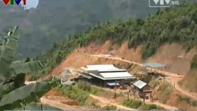 Quảng Nam siết chặt quản lý các điểm khai thác vàng