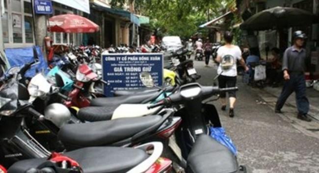 """""""Cháy"""" điểm gửi xe khu phố cổ Hà Nội: Bất cập trong quy hoạch"""