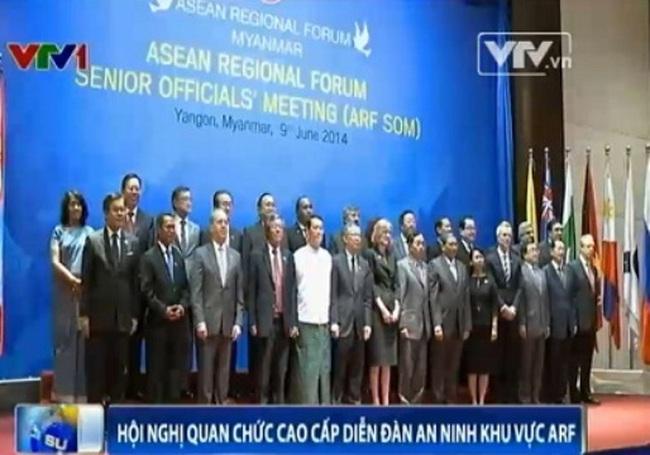Khai mạc Hội nghị quan chức cao cấp Diễn đàn An ninh khu vực ARF