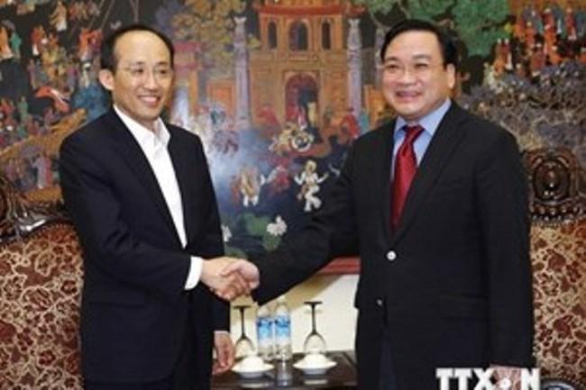 Phó Thủ tướng tiếp Thứ trưởng Bộ Tài chính Hàn Quốc