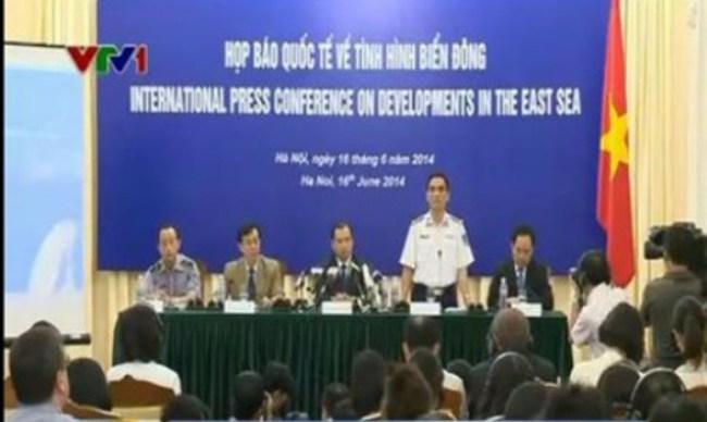 Họp báo quốc tế về tình hình Biển Đông: Việt Nam phản bác luận điệu sai trái của Trung Quốc