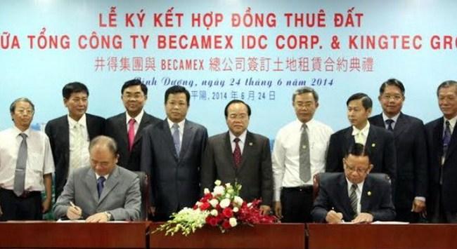 Tập đoàn Đài Loan chi 30 triệu USD xây nhà máy ở Bình Dương