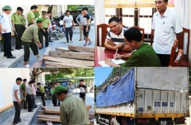 Thanh Hoá: Trạm trưởng kiểm lâm bị bắt quả tang nhận hối lộ 100 triệu VND