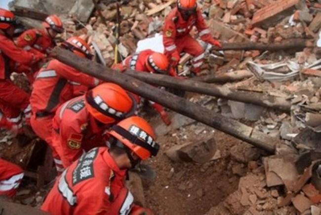 Động đất tại Trung Quốc: Công tác cứu hộ gặp nhiều khó khăn