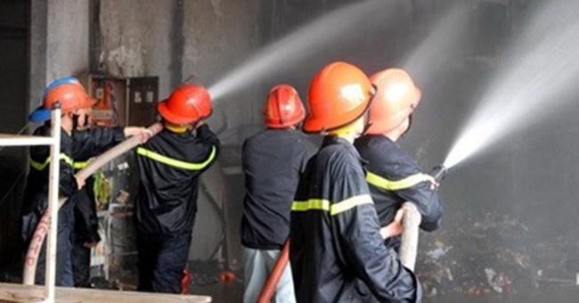 Phú Thọ: Cháy lớn ở Công ty Cổ phần Nhôm Sông Hồng