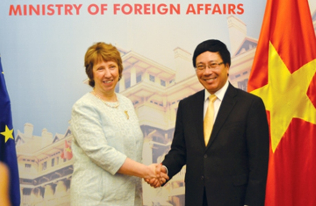 Tăng cường hợp tác Việt Nam - EU