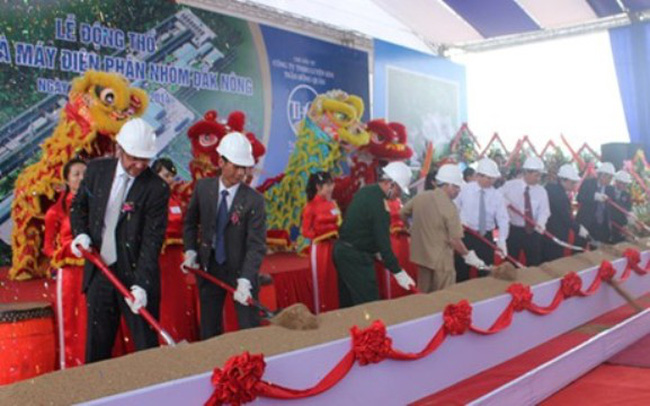 Đắk Nông khởi công nhà máy nhôm 12.000 tỷ đồng