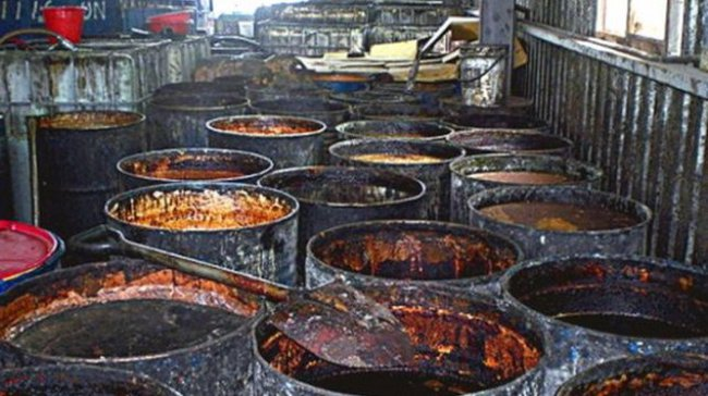 Chưa tìm thấy các sản phẩm có chứa dầu bẩn của Đài Loan