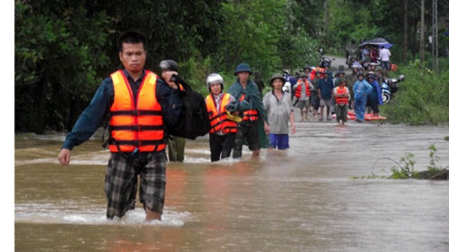 Hoàn lưu bão số 3 gây thiệt hại nặng tại Thái Nguyên, Cao Bằng