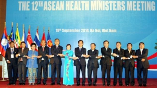 Bế mạc Hội nghị Bộ trưởng Y tế lần thứ 12