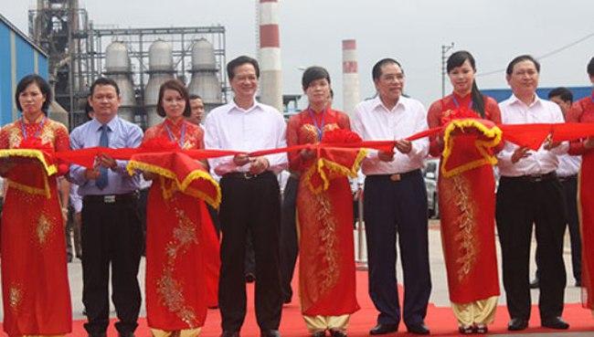 Khánh thành Nhà máy Gang thép Lào Cai