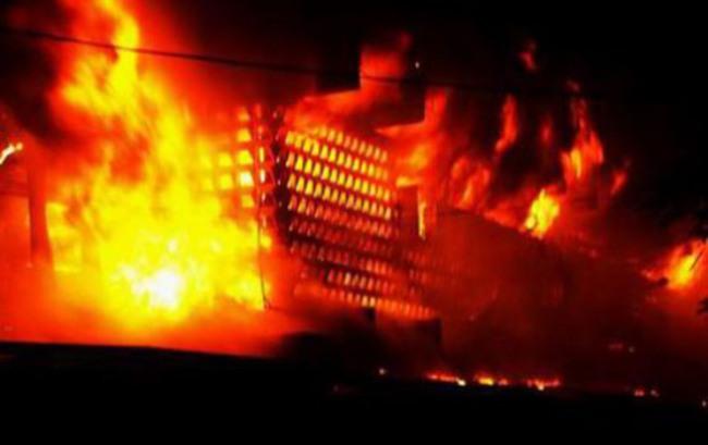 Cháy khu chợ mới tại Sóc Trăng, thiệt hại hàng tỷ đồng