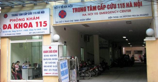 Khởi tố vụ án rút ruột BHYT tại Trung tâm Cấp cứu 115 Hà Nội