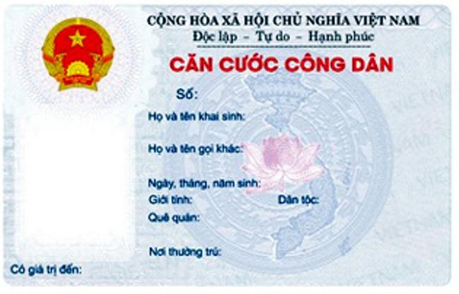 Thẻ căn cước công dân cho người dưới 14 tuổi có thể thay thế giấy khai sinh