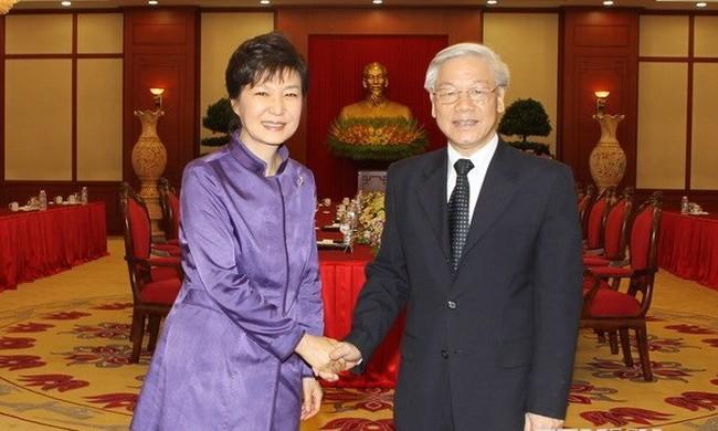 Đẩy mạnh toàn diện quan hệ Đối tác chiến lược Việt - Hàn
