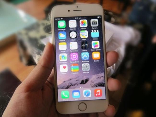 Giá dự kiến của iPhone 6 chính hãng tại Việt Nam khoảng 17,99 triệu đồng