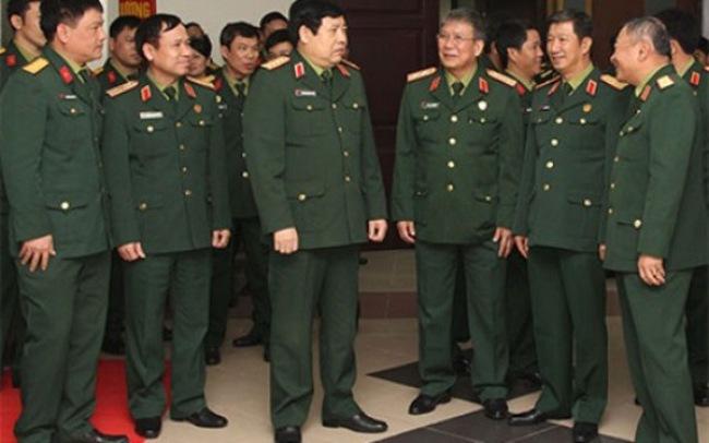 Kiên trì quan điểm quân đội có 3 Đại tướng