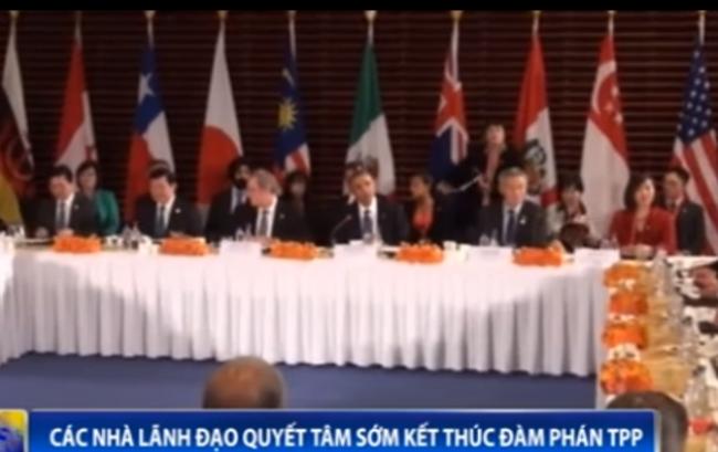 Quyết tâm sớm kết thúc đàm phán Hiệp định TPP