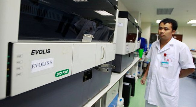 Vụ Bio-Rad: Viện Huyết học - truyền máu Trung Ương phủ nhận