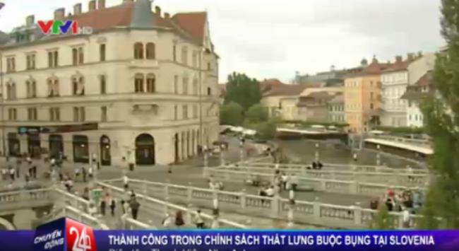 """Slovenia thoát khỏi khủng hoảng nhờ chính sách """"thắt lưng buộc bụng"""""""