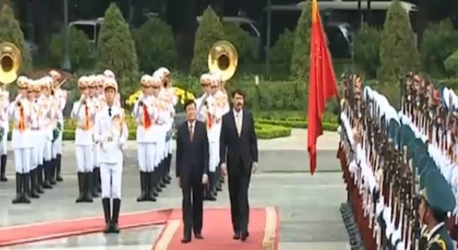 Tổng thống Hungary thăm cấp Nhà nước đến Việt Nam