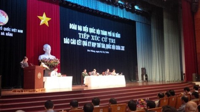 Ông Nguyễn Bá Thanh tiếp tục vắng mặt tiếp xúc cử tri