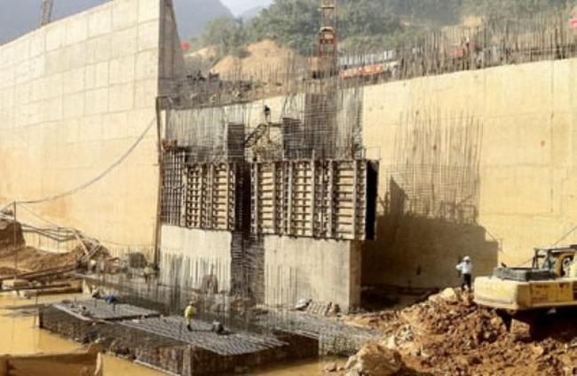 Cuối 2015 phát điện tổ máy số 1 thủy điện Lai Châu