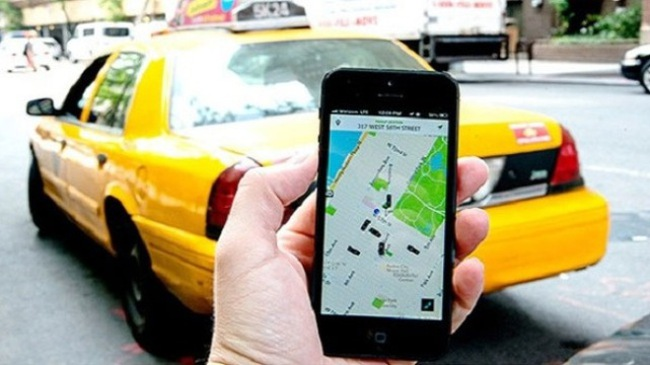 Taxi Uber hoàn toàn có thể kiểm soát được