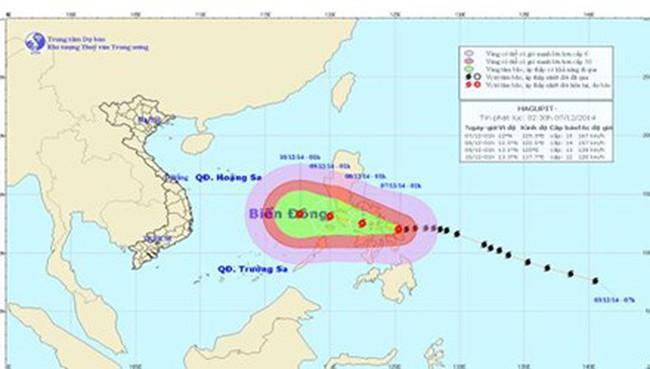 Rạng sáng mai, bão Hagupit đổ bộ Philippines