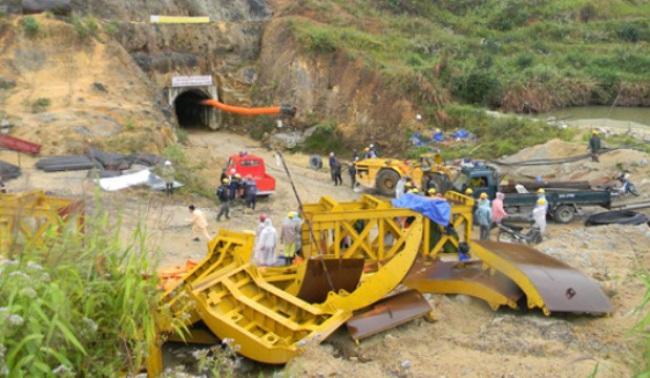 3 Bộ phối hợp cứu hộ cứu nạn vụ sập hầm thủy điện