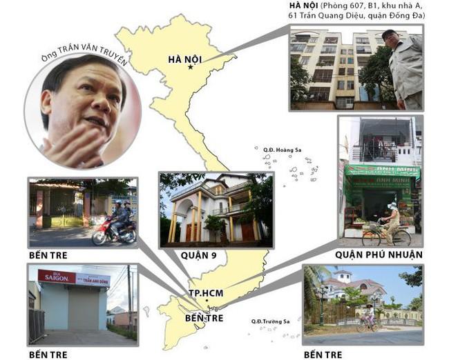 Đề nghị Ban Bí thư xem xét kỷ luật ông Trần Văn Truyền