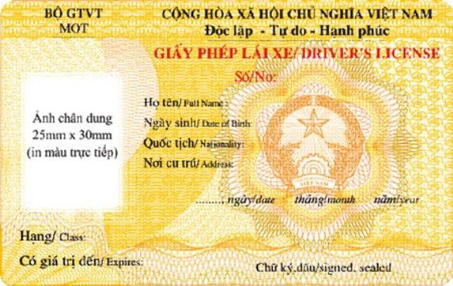 Việt Nam sẽ cấp giấy phép lái xe quốc tế