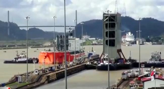 Dự án mở rộng kênh đào Panama xin đội vốn thêm 740 triệu USD