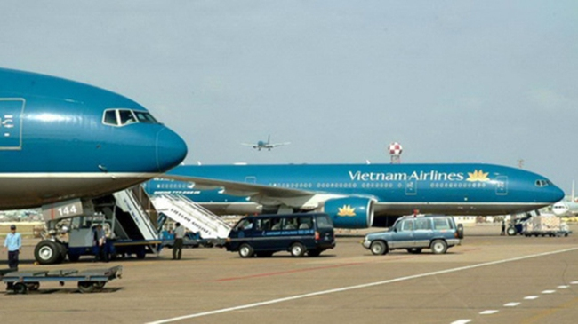Bộ GTVT đề nghị Vietnam Airlines bay thử đường bay vàng