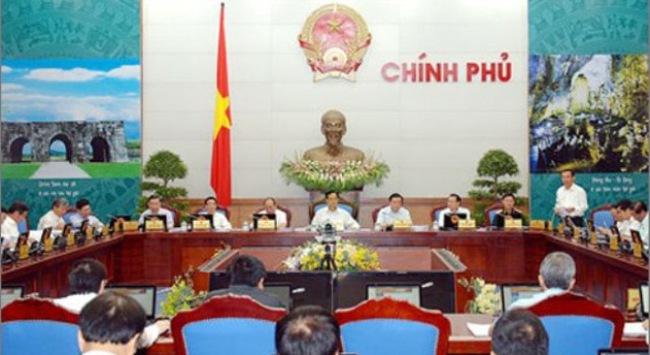 Thủ tướng chủ trì phiên họp Chính phủ tháng 9