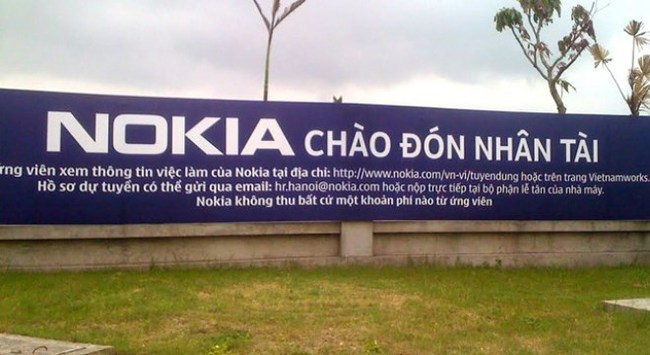 Lý do nào khiến Microsoft dời dây chuyền Nokia từ Trung Quốc sang Việt Nam?