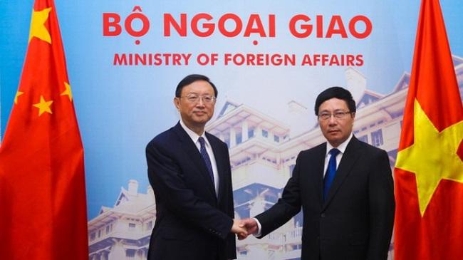 Ủy viên Quốc vụ viện Trung Quốc Dương Khiết Trì thăm Việt Nam