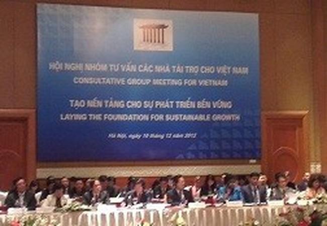Việt Nam được cam kết tài trợ 6,5 tỷ USD
