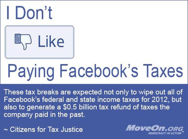 Chính phủ Mỹ phải giảm, hoàn thuế hàng tỷ USD cho Facebook