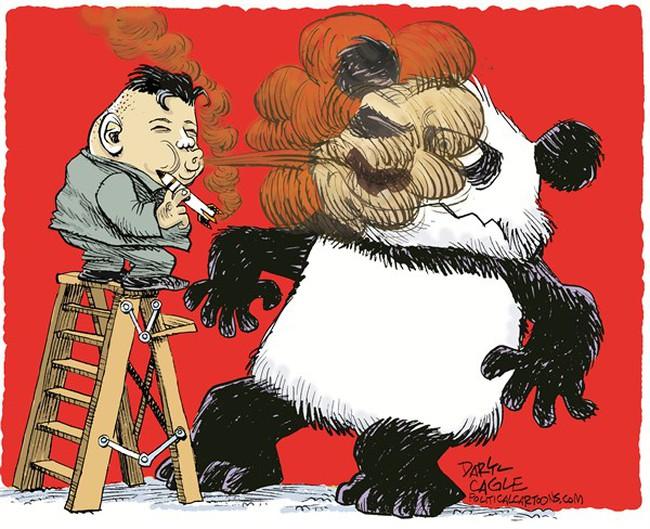 Liên Triều cãi nhau, Trung Quốc khóc thầm