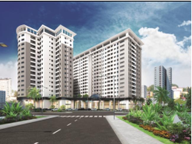 Địa ốc Hoàng Quân (HQC) tung căn hộ giá rẻ chỉ 12.3 tr/m2 tại TP.HCM