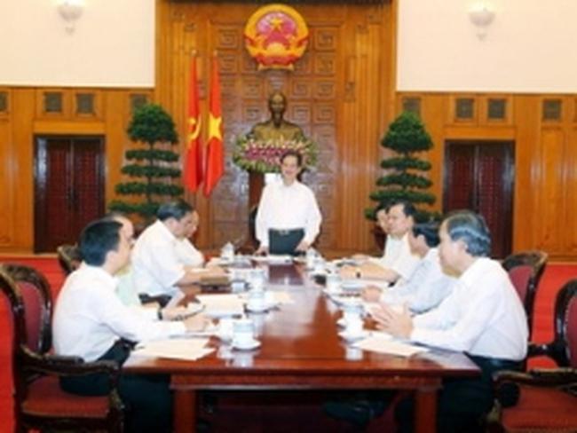 Ban Cán sự Đảng Chính phủ tiến hành họp kiểm điểm