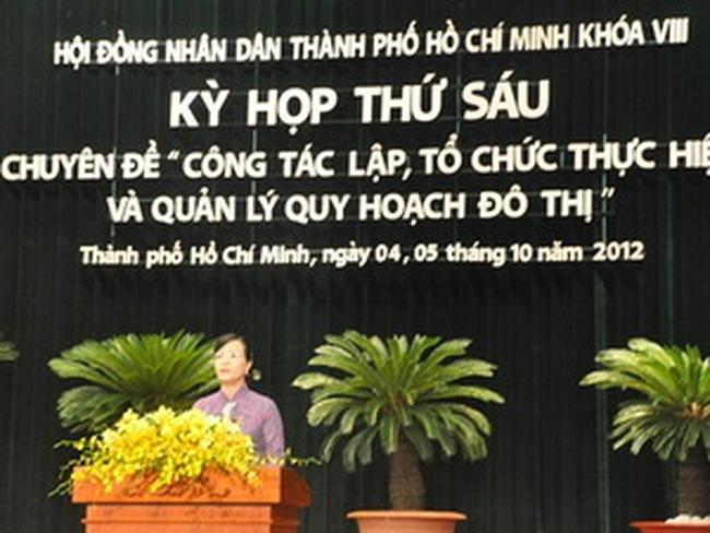 Khai mạc kỳ họp thứ 6 Hội đồng Nhân dân TP.HCM