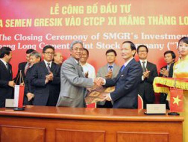 Tập đoàn Indonesia mua 70% cổ phần Xi măng Thăng Long