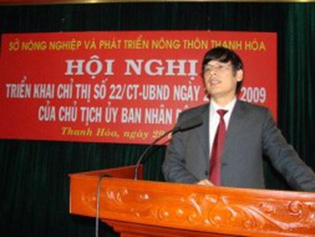 Thanh Hóa có phó chủ tịch tỉnh mới
