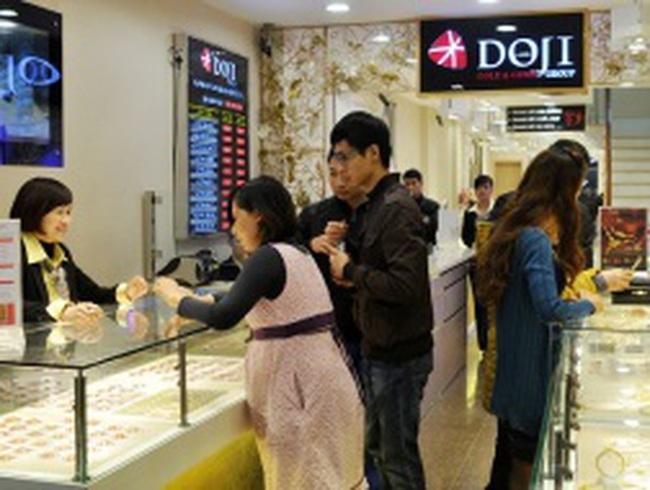 Tập đoàn DOJI đạt thương hiệu Quốc gia 2012