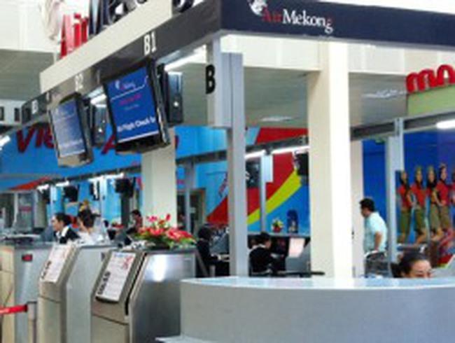 Air Mekong thành con nợ