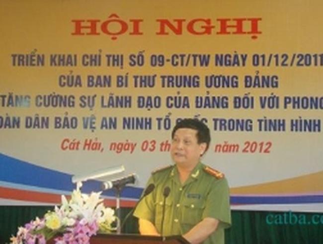 Phó GĐ Công an Hải Phòng bị kỷ luật là em rể Dương Chí Dũng